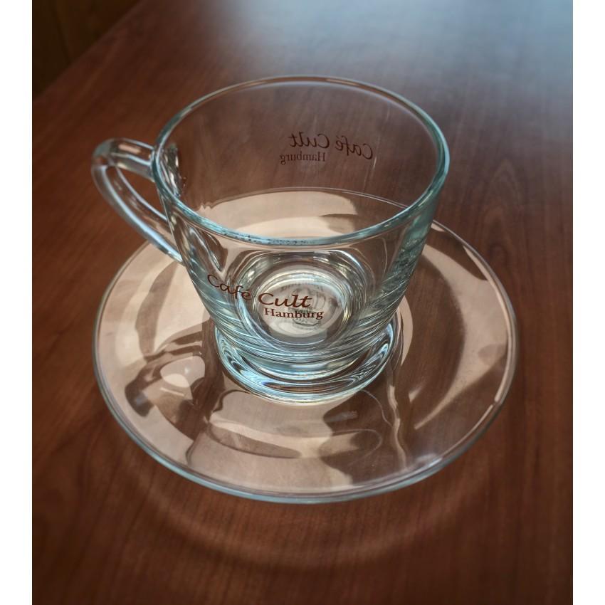"""Чаша за кафе/капучино  с чинийка """" Cult"""" – 150 мл."""