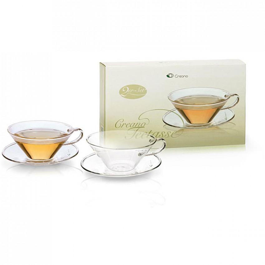 """Стъклена чаша за чай """"Creano"""" 100 мл."""