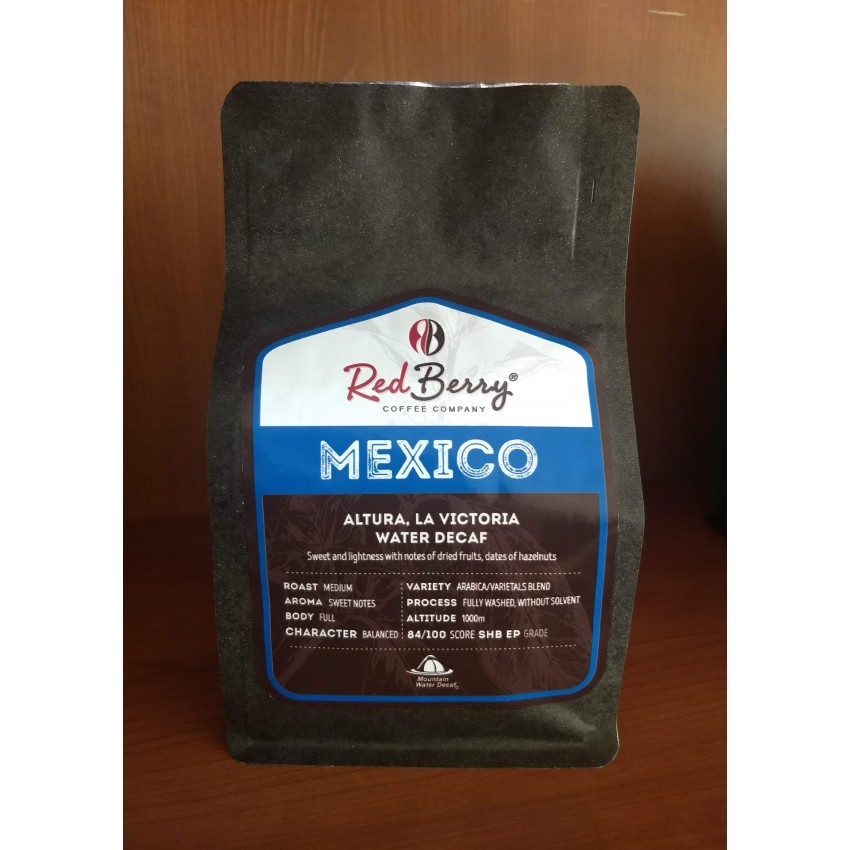 Red Berry Mexico Altura La Victoria Decaf - 250гр.