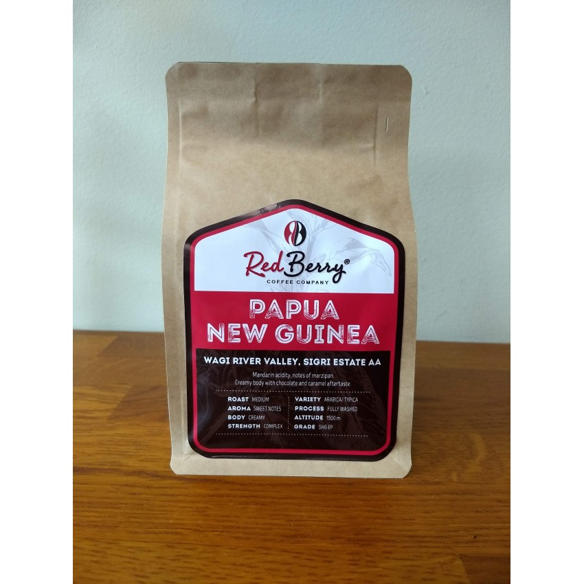 Red Berry Papua New Guinea Wagi River Valley Sigri Estate AA - 250гр.