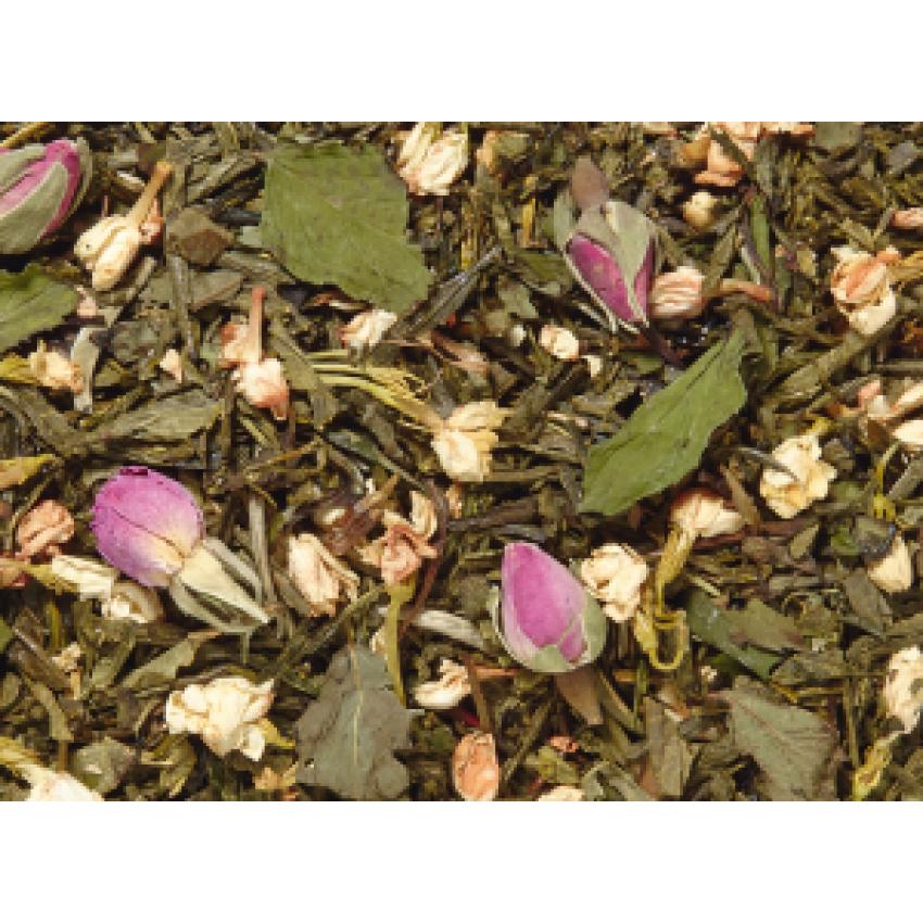 O-TONE MINT (Orange Blossom/Mint) -  Бял и зелен чай с портокал и мента - 50 гр.