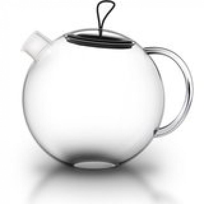 Кана за чай с цедка от неръждаема стомана