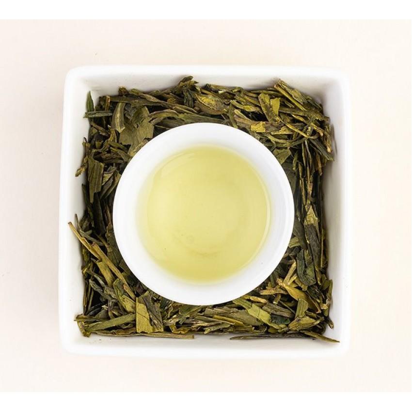 Зелен чай Long Jing  – Dragonwell  /Драконов кладенец/ Imperial Green - Pre Qing Ming.